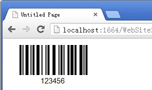 ASP.NET barcode generator library control dll